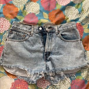 Urban Outfitters Levi's cutoffs